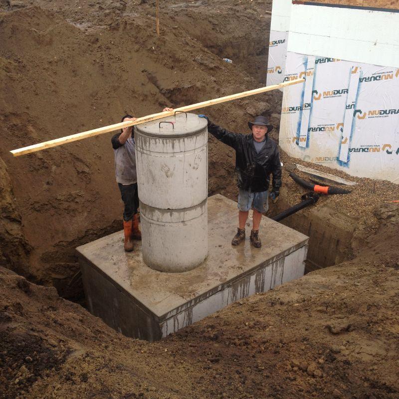 Underground Concrete Water Tank